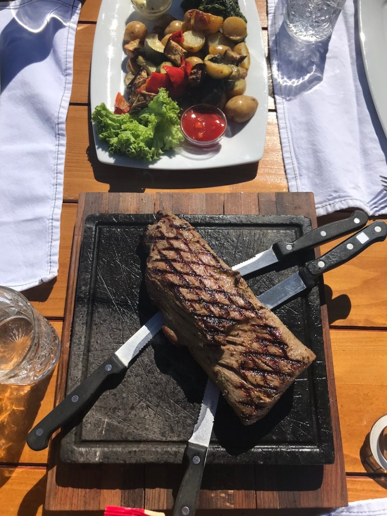 Chateaubriand at Fienile, Selva