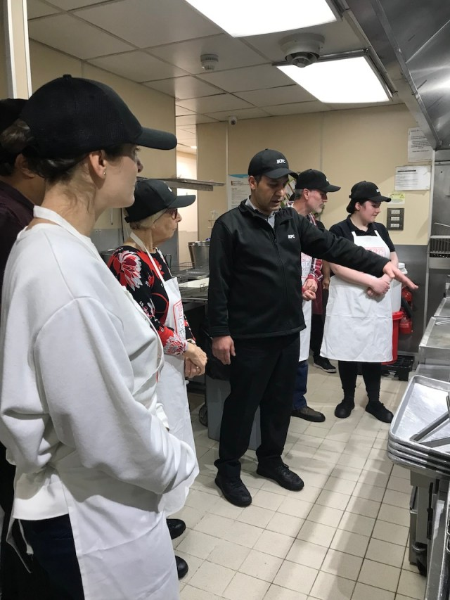 KFC Open Kitchen