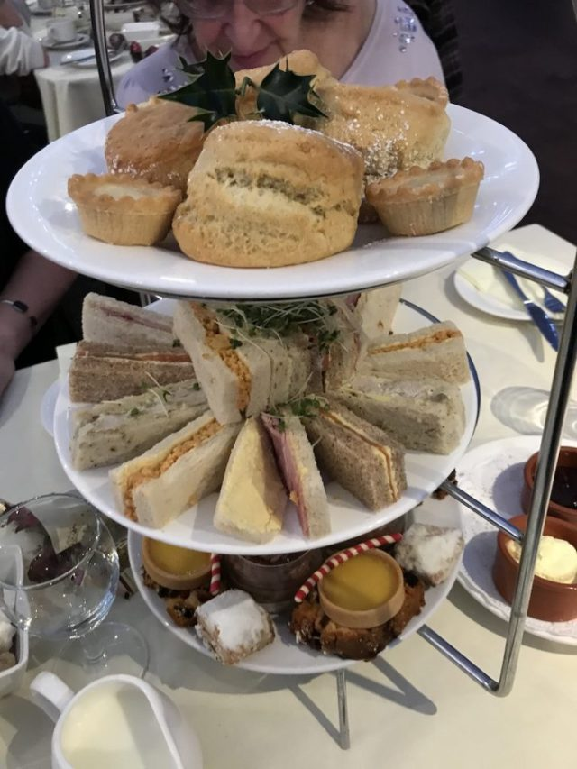 Festive afternoon tea at Coombe Abbey