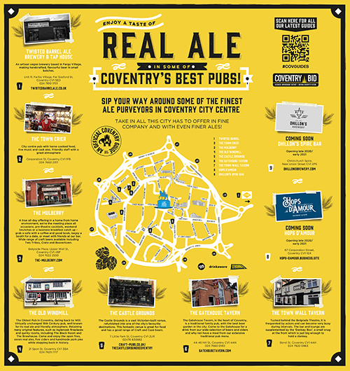 Coventry Real ale guide