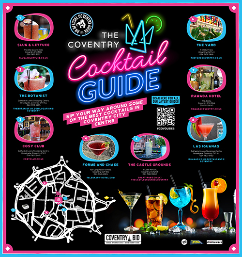 Coventry Cocktail guide