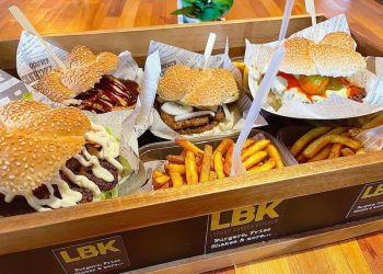Burgers from London Burger Kitchen