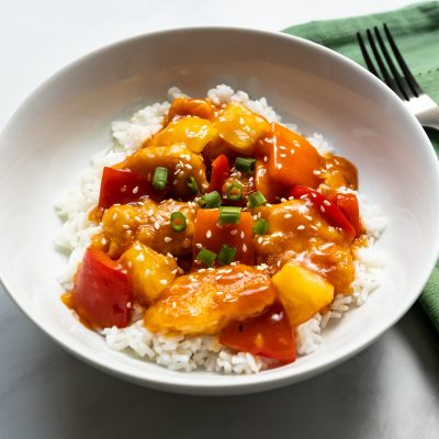 Sweet 'n Sour Chicken (with less sugar)