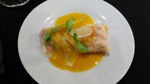 Steamed Seafood Ravioli