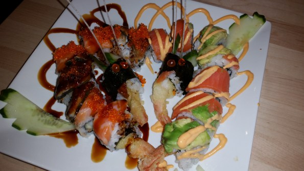 Kiss dragon roll