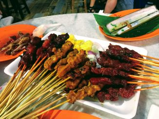 Lau Pa Sat Outdoor Food Market