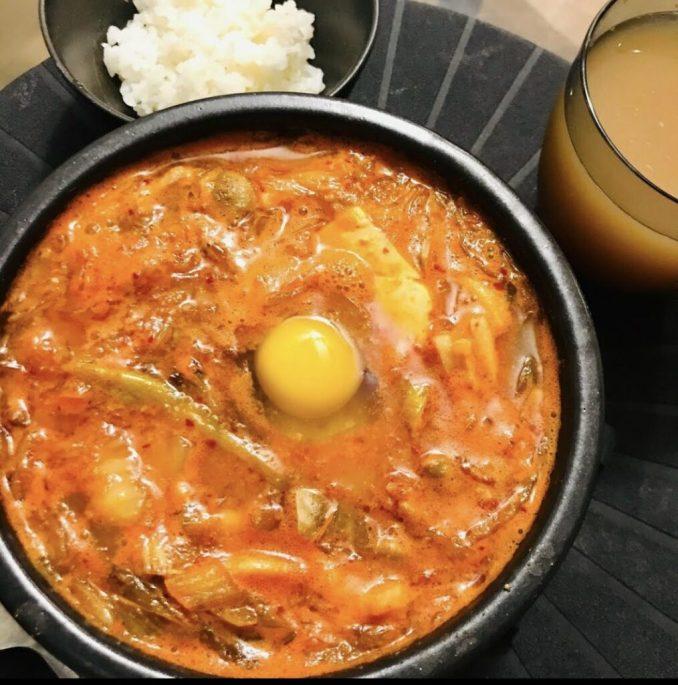 Sundubu jjigae Korean Hot Pot