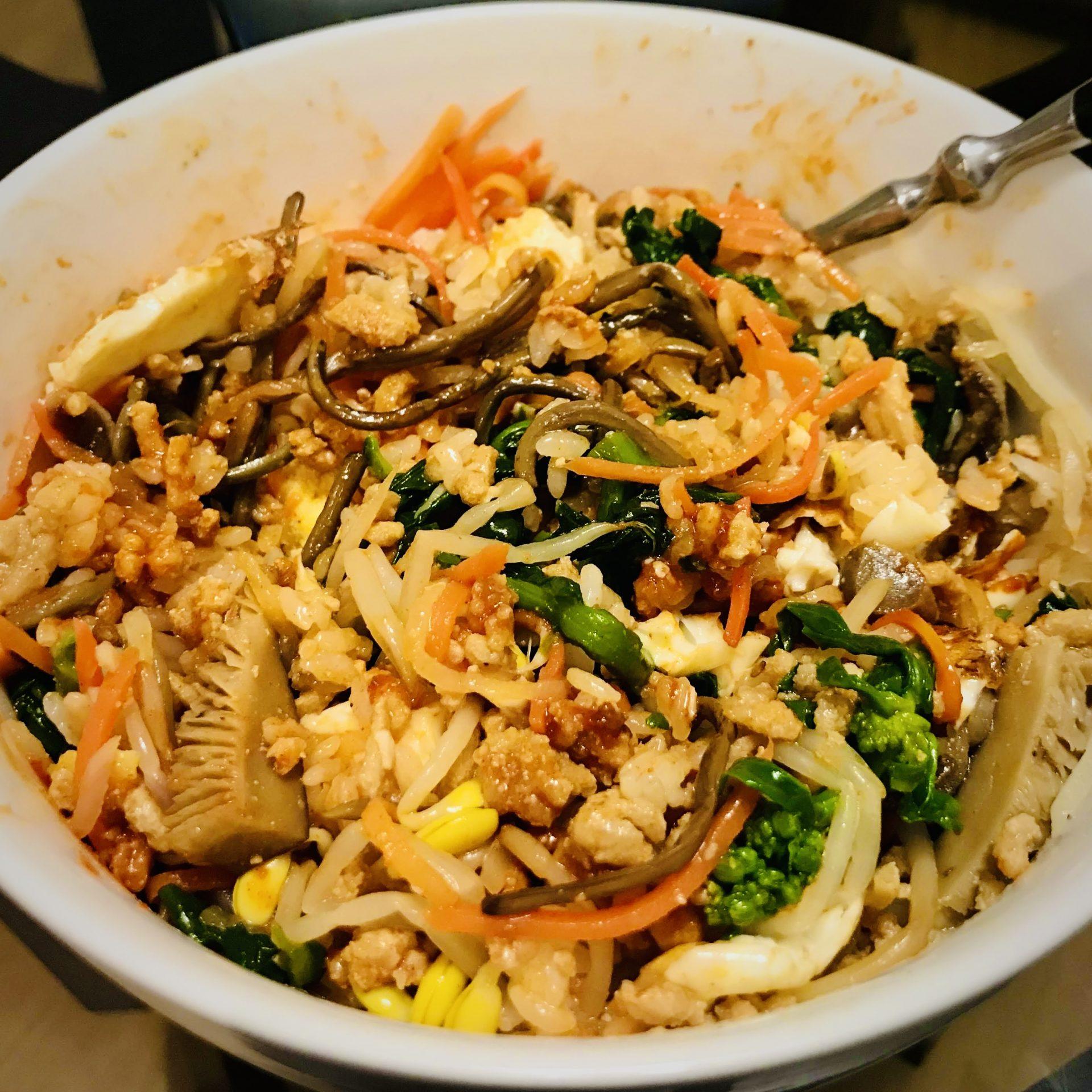 Bibimbap Korean Dish