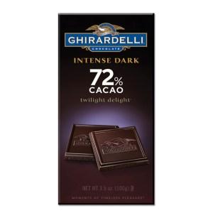 Ghirardelli Dark Chocolate 72% Cacao