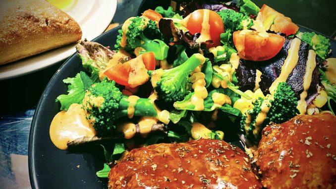Japanese Stewed Hamburg Steak - EATwithOHASHI.com - Organic Healthy Japanese