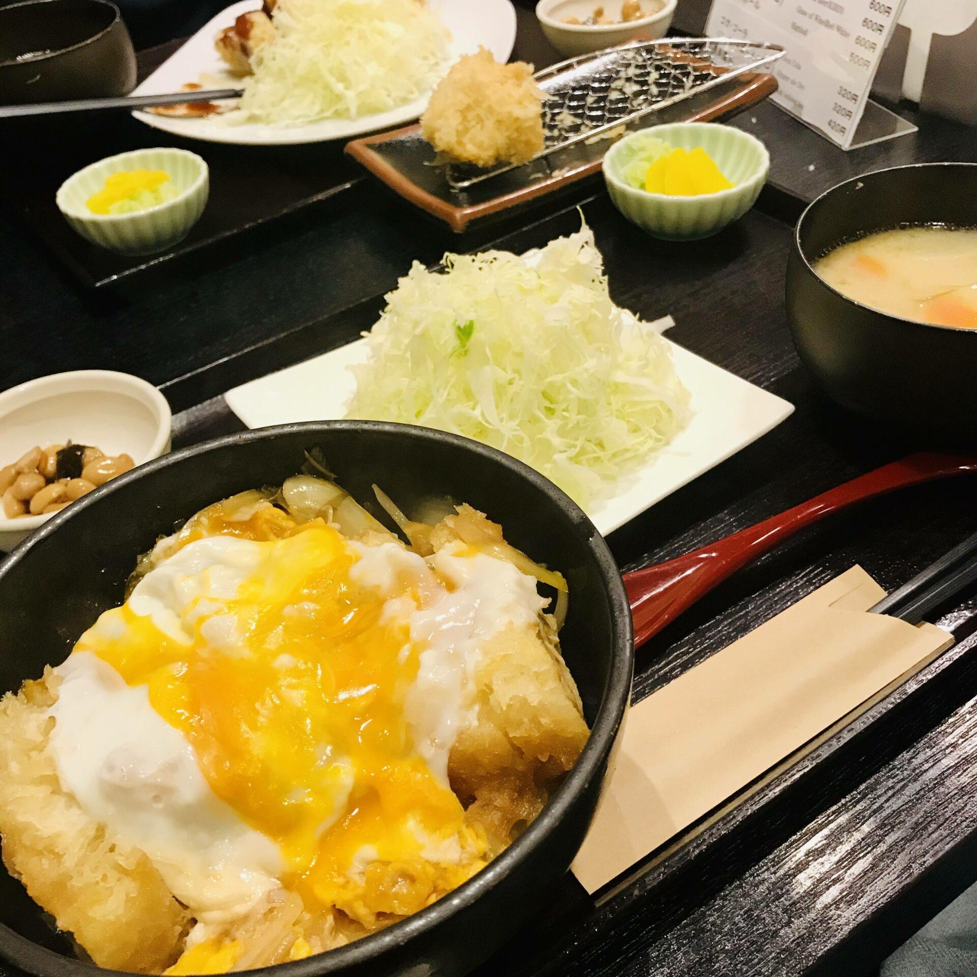 Tonkatsu at Narikura with Egg