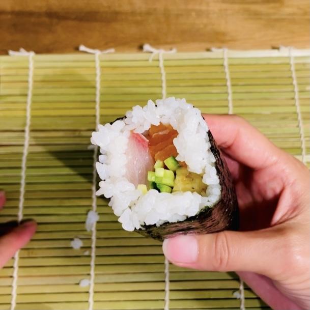 Making Sushi Rolls 8 - EATwithOHASHI.com