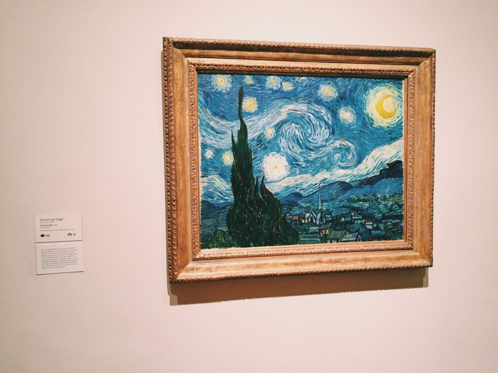 MoMA Van Gogh Starry Night