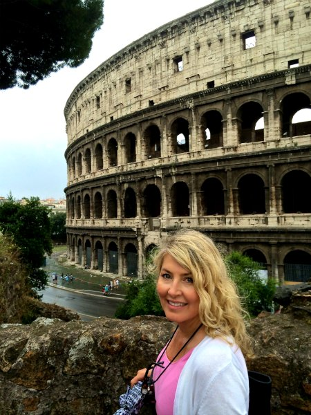 Rome Colosseum Me