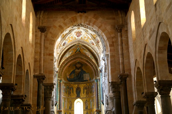 Sicily Cathedral inside