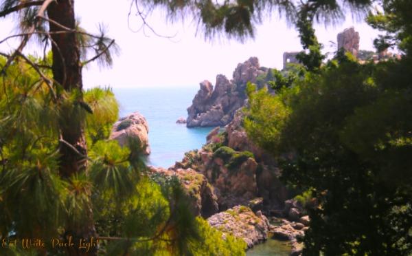 Sicily Rocks Near LaCall