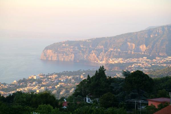 Sorrento mountain view