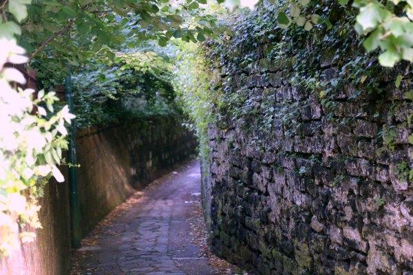Sorrento village path