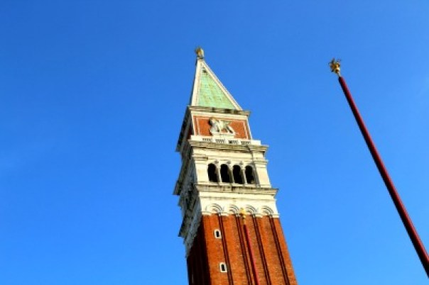 Venice tower sky view