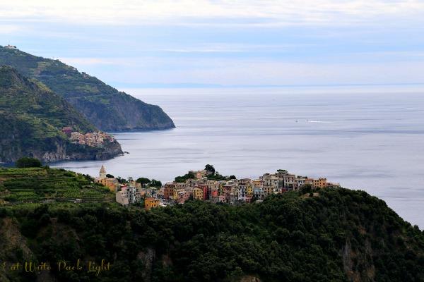 cinque terre Corniglia in view