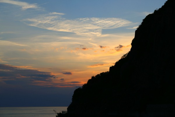 riomaggiore sunset