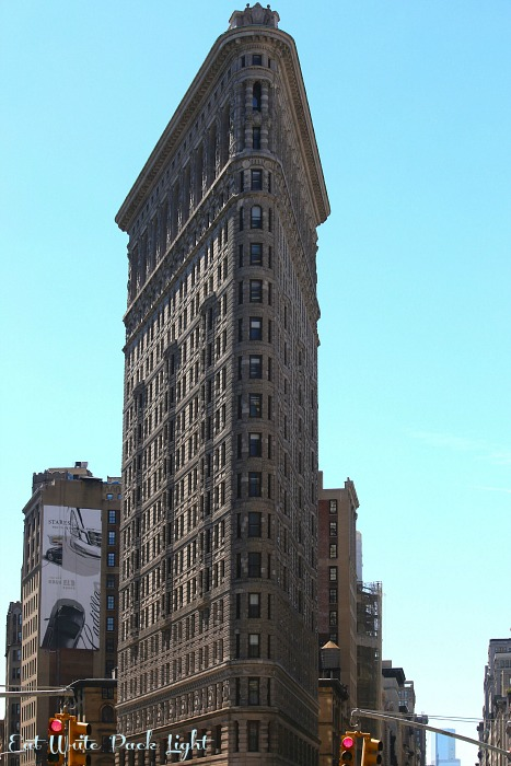 New York Flatiron daylight
