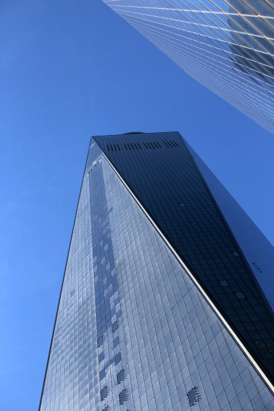 New York Freedom Tower from below