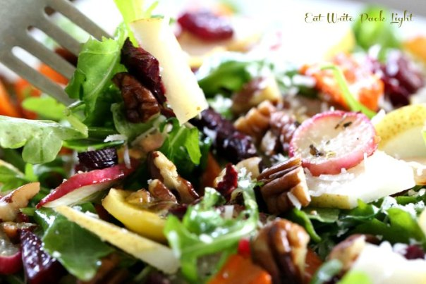 Roasted Root Vegetable Salad Fork 2