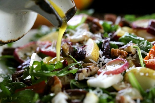Roasted Root Vegetable Salad Pour