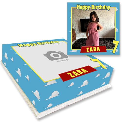 toy story photo cake