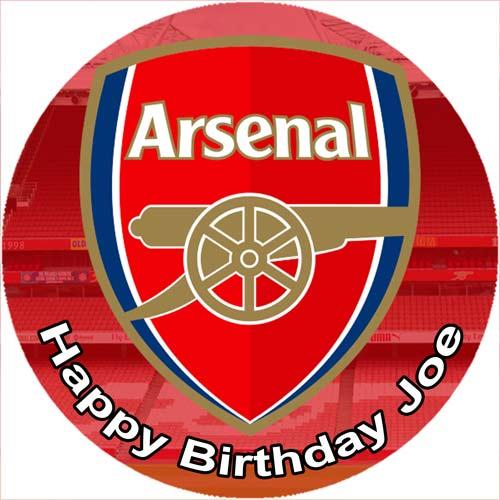 Arsenal Edible Photo