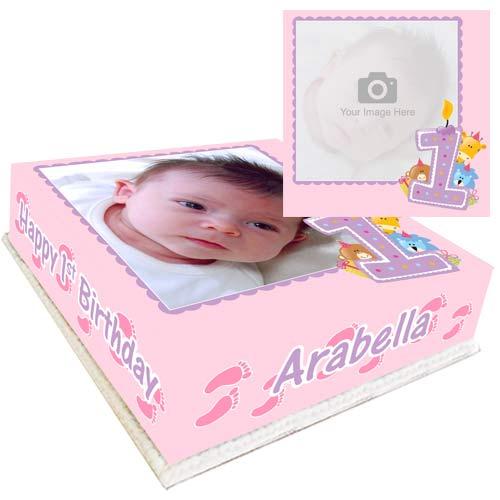 cake for 1st birthday girl