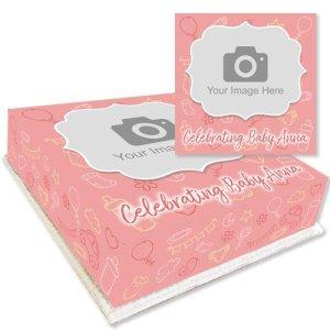 Baby Theme Photo Cake