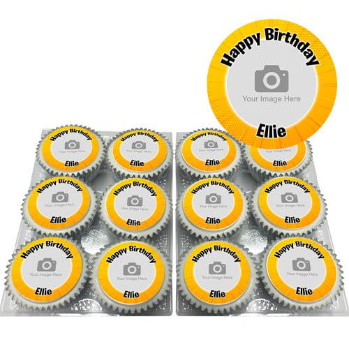 Comic Zoom Cupcakes
