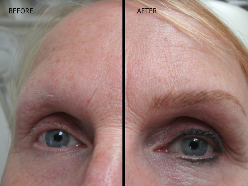 Permanent Eyebrows in Eau Claire, Wisconsin