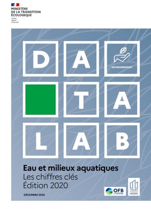 Publication 2020 chiffres clés eaux et milieux aquatiques