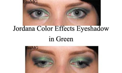 Jordana Color Effects Eyeshadow in Green
