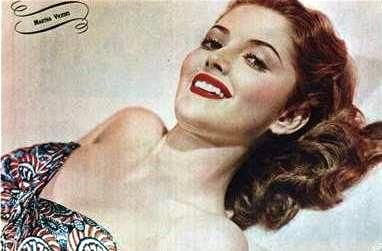 1940's style icon Martha Vickers