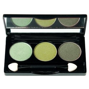 NYX Green Trio Eyeshadow