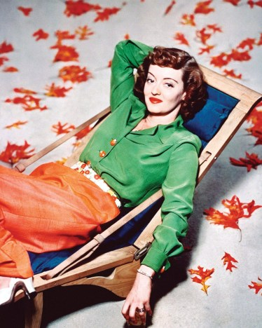 Bette Davis 1940 vintage makeup look