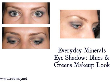 Eye makeup look using Everyday Minerals Mineral Eye Shadow