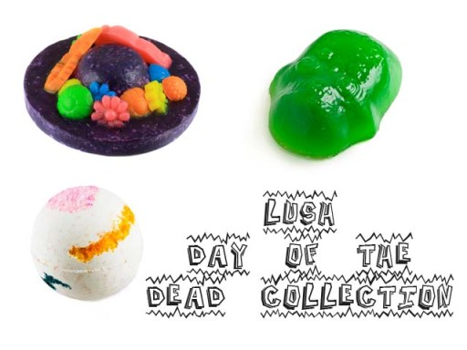 LUSH Day of the Dead Collection