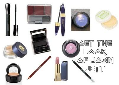 Get the 1980's Makeup Look of Joan Jett