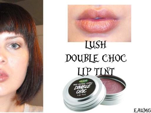 LUSH Double Choc Lip Tint review