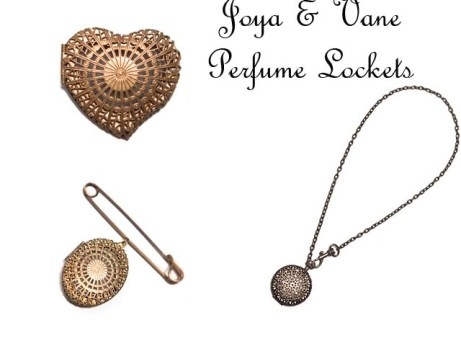 Joya & Vane Perfume Locket Collection