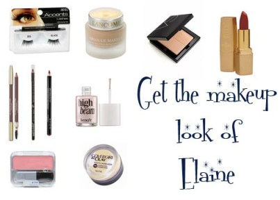 Makeup instruction to get the 1950's makeup look of Elaine Stewart