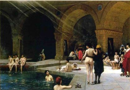 Jean-Leon Gerome The Grand Bath 1885