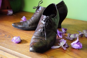 Edwardian Leather boots from etsy