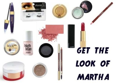 Makeup tutorial to get vintage 1940's makeup look of Martha Vickers