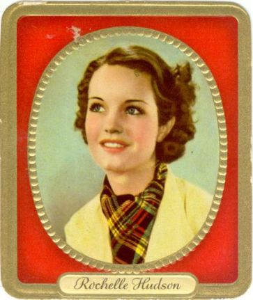 cigarette card of 1930's actress Rochelle Hudson